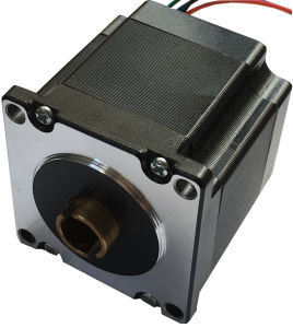 NEMA23 12V Hollow Shaft Stepper Motor with High Precise