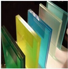 6.38mm-52mm Clear/Milk/White/Clolored Laminated Glass/Tempered Laminated Glass/Tempered Low E Laminated Glass