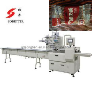 Pork Jerky Packing Machine with Feeder pictures & photos