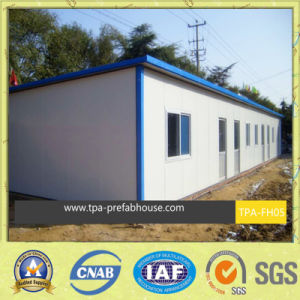 Fire Proof Prefab T House for Labor Dormitory pictures & photos