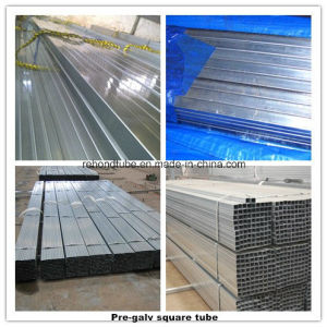 ERW Square Precision Tube and Steel Pipe
