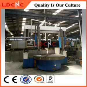 Normal Manual Double Column Vertical Lathe for Sale pictures & photos