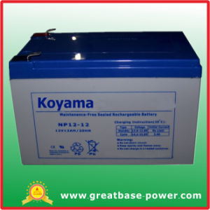 Good Performance AGM Battery 12V 12ah pictures & photos