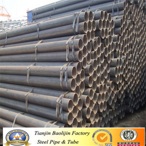 Good Quality Black ERW Iron Schedule 40 Scaffolding Pipe pictures & photos