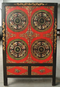 Antique Furniture Wooden Cabinet Lwa335 pictures & photos