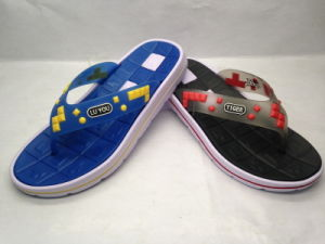 V Strap EVA Slipper for Your People (21IV1605) pictures & photos