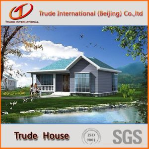 Color Steel Sandwich Panels Mobile/Modular/Prefab/Prefabricated Steel Living Villa pictures & photos