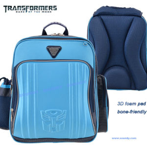 Transformer Backpack with Refelctive Piping on The Front / School Bag
