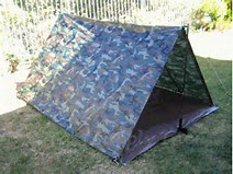 Polyethylene Camouflage Tarpaulin for Camping pictures & photos