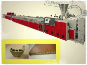 Plastic WPC Extruder Machine /Wood Floor Making Machine/Wood Plastic Composite Production Line pictures & photos