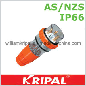 IP66 4 Pin 20A Industrial Waterproof Plug pictures & photos