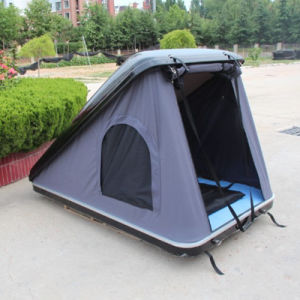 Overland Outdoor Camping Hard Shell Fiberglass Roof Top Car Roof Top Tent for Camping pictures & photos