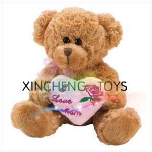 Plush Teddy Bear with Love Heart