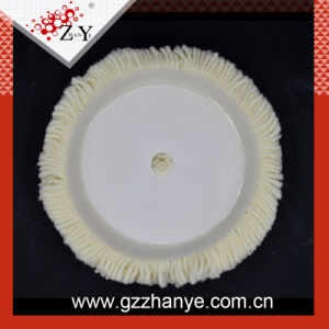100% Wool Hook & Loop Grip Buffing Pad for Compound Cutting & Polishing pictures & photos