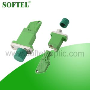 Sc/APC Fiber Optic Adaptor with Flange pictures & photos