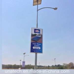 Lamp Pillar Ads Banner Flex PVC Film Outdoor Aluminum LED Light Box pictures & photos