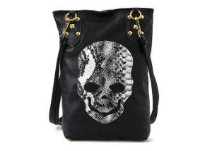 Special Design Ladies PU Leather Skull Handbag Manufacture