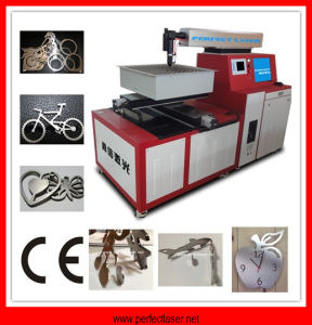 Hot Sale Cut Metal Material Metal Laser Cutting Machine (PE-M500) pictures & photos