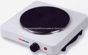 Electric Single Hot Plate with 1500watts pictures & photos