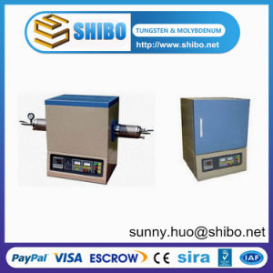 1400c High Temperature Lab Tube Furnace Heated by Sic Heating Element pictures & photos
