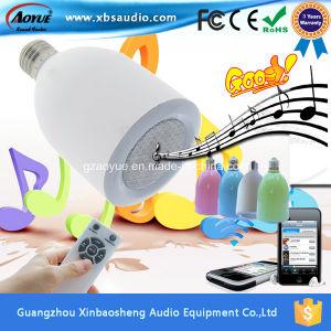 Professional Portable Mini Audio Wireless LED Bulb Speaker