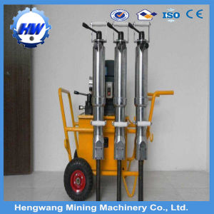 Easy Operate Hydraulic Rock Splitter Price pictures & photos