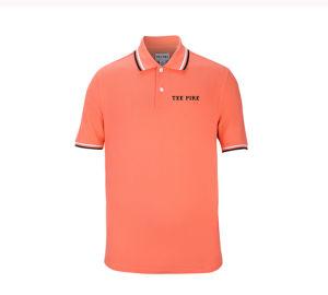 New Design Custom Men Cotton Solid Color Pique Polo Shirts pictures & photos
