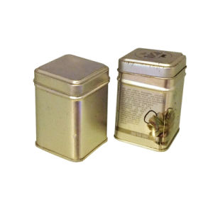 Mini Beautiful Tea Storage Box Tin Container Candy Canister