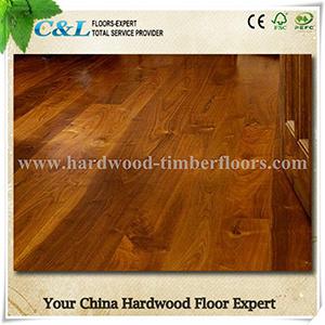 Hot Sale Prefinished American Black Walnut Wood Flooring
