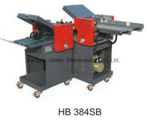 Automatic High Speed Paper Folding Machine Hb 384s/Hb 384sb/Hb 384SD pictures & photos