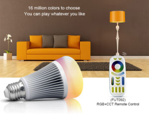 Magic Smart Color Changing 8W RGB+CCT LED Bulb Lamp pictures & photos