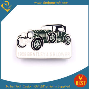 China Customized Wholesale Metal Soft Enamel Car Shape Pin Badge in High Quality pictures & photos