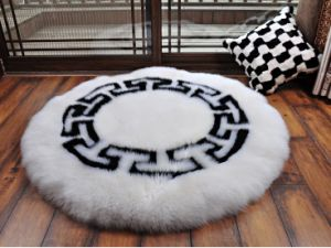 Big Size Plush Sheepskin Rug Floor Carpet Door Mat pictures & photos