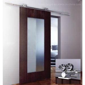 Sliding Glass Wood Door (S5-1011) pictures & photos