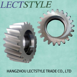 Small Module Bevel Gear for Groove-Cutting Machine pictures & photos