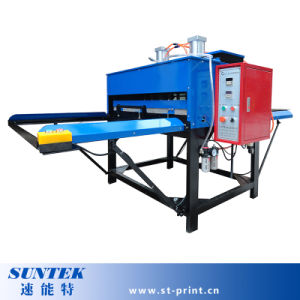 Large Format Pneumatic Double Sides Fabric Sublimation Transfer Machine pictures & photos