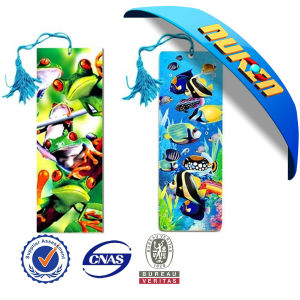 Customized Bookmarks 3D Lenticular Printing pictures & photos