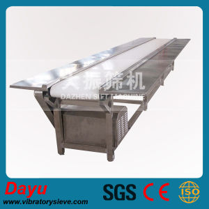 Stainless Belt Conveyor for Food Transportation pictures & photos