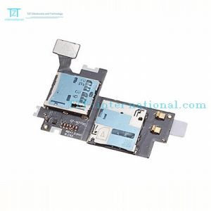 Wholesale SIM Micro SD Flex Cable for Samsung Note2/N7100 pictures & photos