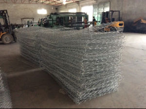 Electro Glvanized Weaving Gabion pictures & photos