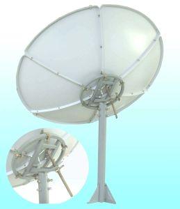 C120cm/C135cm/C150cm/C160cm/C180cm Satellite Antenna with Pole Mount pictures & photos