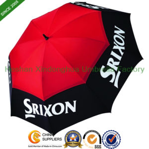 "68"" Arc Large Vented Personalized Golf Umbrellas (GOL-0034FD) pictures & photos"