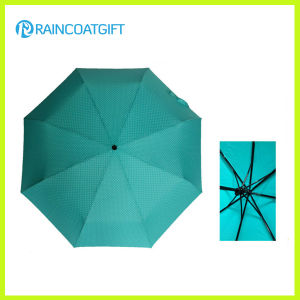 "21""*8k Promotional Cheap 3 Fold Umbrella pictures & photos"