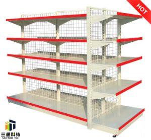 Steel Display Supermarket Gondola Rack pictures & photos