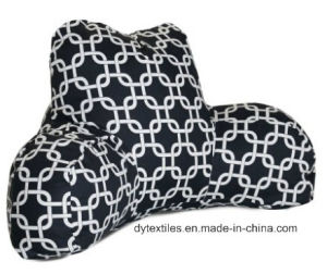 Majestic Home Goods Links Reading Pillow, Black pictures & photos