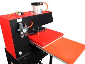 Heat Press Pneumatic Double Station pictures & photos