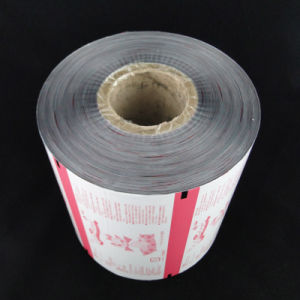 Automatic Packaging Custom Printed Aluminum Foil Laminated Plastic Film Roll pictures & photos