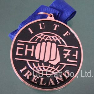 Round Shape Copper Medal (MD-016)