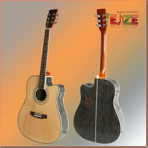 "41""High Grade Plywood Acoustic Guitar Made in China pictures & photos"