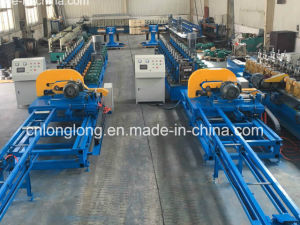 Accuracy Construction Structural Section Roll Forming Machine with Long Time Service pictures & photos